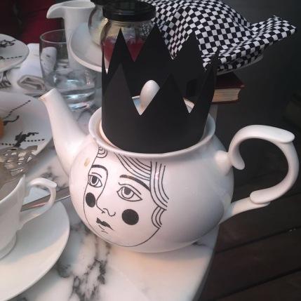 Queen Teapot