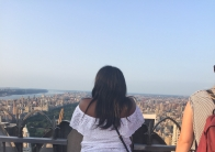 Me admiring the view of Central Park