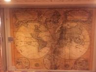 Map on cruise