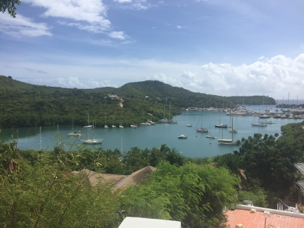 Harbour in Antigua
