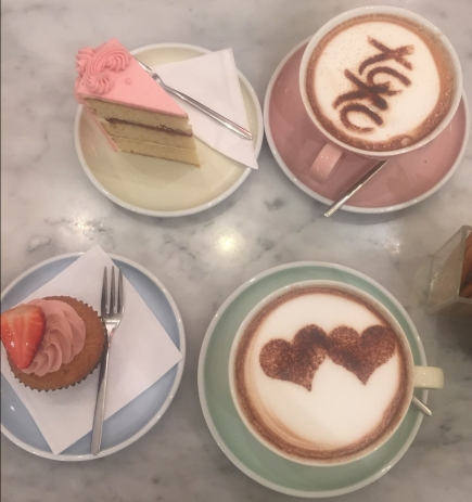 Cakes and Hot Chocoloate