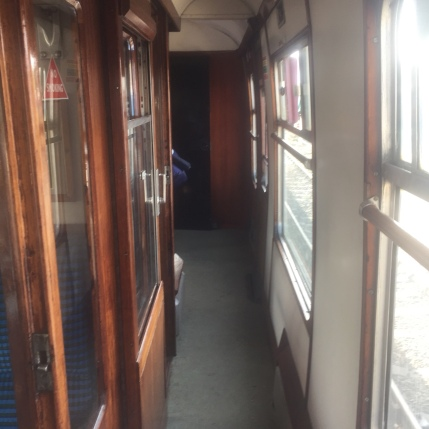 Inside the train