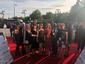Some of the Choir on the Red Carpet