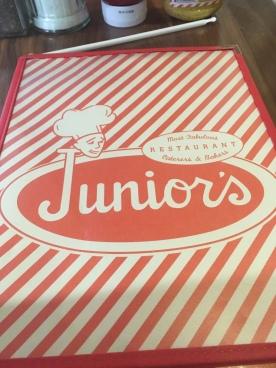 Junior's Menu