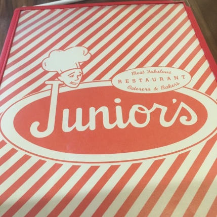 Junior's Menu