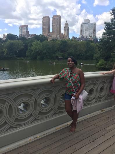 Hazel in Central Park