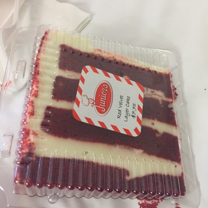 Junior's Red Velvet Cake