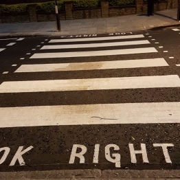 The Famous Zebra Crossing