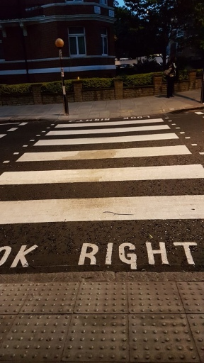 The Famous Zebra Crossing