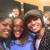 Brenda and I with Aston Merrygold
