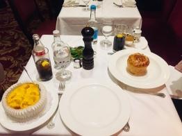 Fish Pie and Steak and Kidney Pie