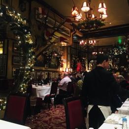 Inside Rules Restaurant