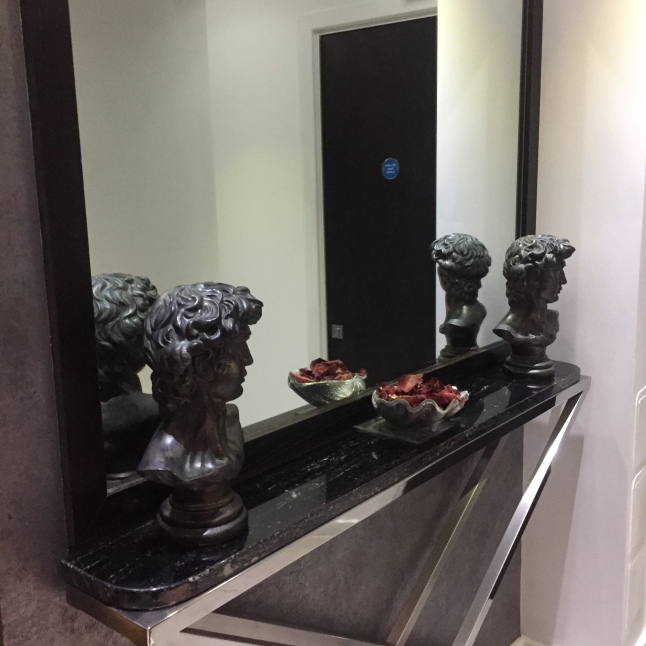 Mirror and Statues