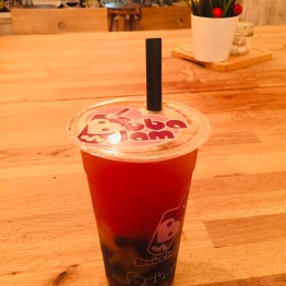 Passionfruit Bubble Tea