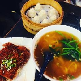 Leong's Xiao Long Bao, Deep Fried Pork and Noodle Soup