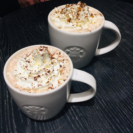 Salted Caramel Brownie Hot Chocolate