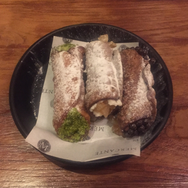 Chocolate & Limoncello Cannoli