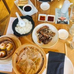 Ribs, Dumplings and Rice