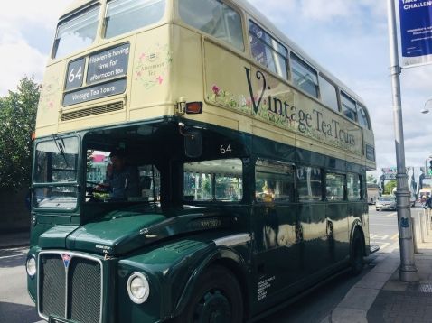 Vintage Tea Tours Bus