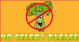Celery Not Allowed