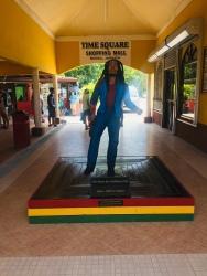 Bob Marley Statue Negril