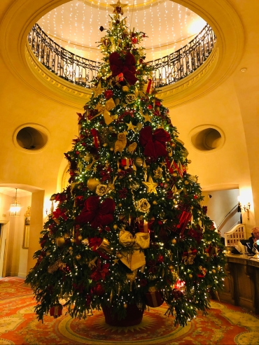 Christmas Tree in the Ritz