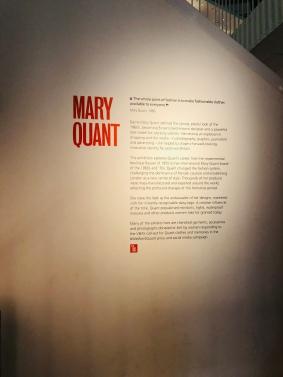 Mary Quant Exhibition